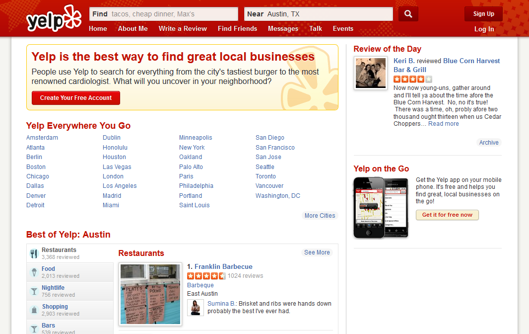 When it Comes to Yelp, Customer Service is King
